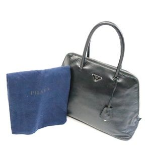 Prada Leather Zipper Tote - OS - F026